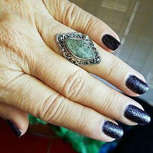 Labradorite Ring Sterling Silver NEW